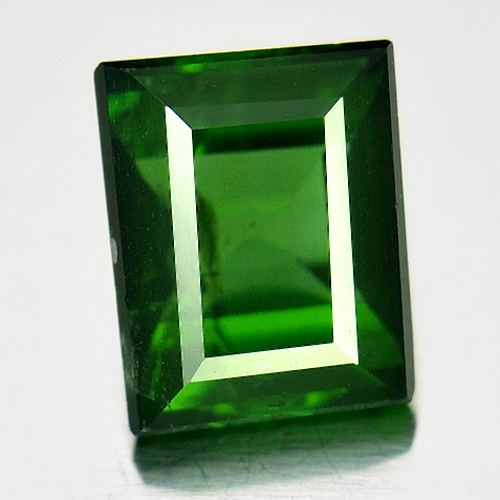 1.44 Ct. Baguette Shape Natural Gemstone Green Tourmaline Unheated