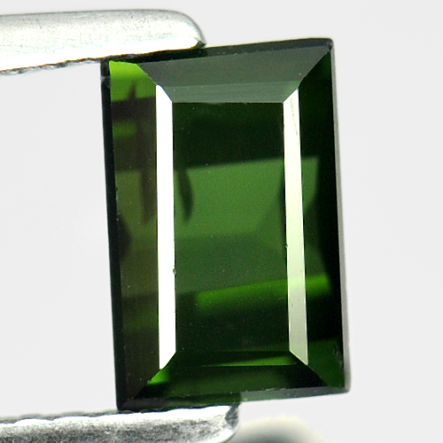 1.38 Ct. Baguette Shape Natural Green Tourmaline Nigeria