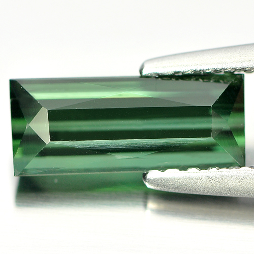 1.25 Ct. Baguette Shape Natural Green Tourmaline Nigeria