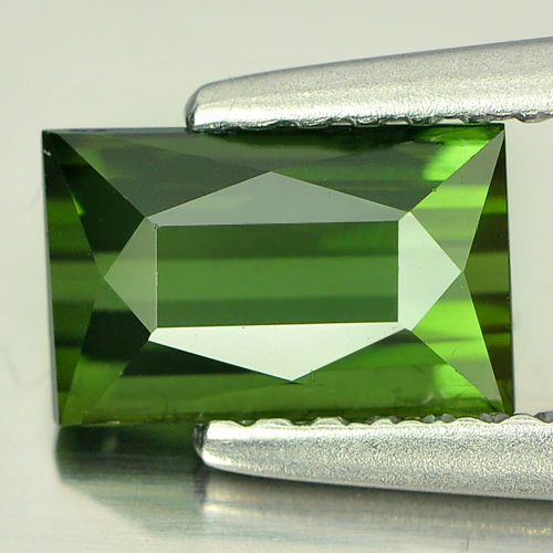 1.10 Ct. Baguette Shape Natural Green Tourmaline Nigeria