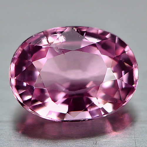 0.63 Ct. Nice Color Natural Pink Tourmaline Gemstone Oval Shape