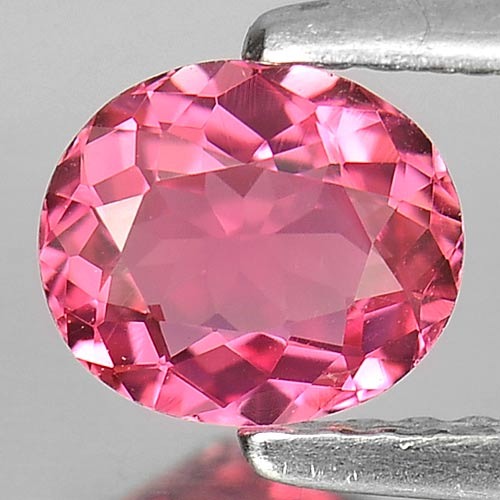 0.67 Ct. Oval Shape Natural Gem Pink Tourmaline Unheated