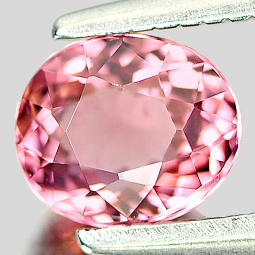 0.68 Ct. Oval Natural Pink Gemstone Tourmaline Unheated