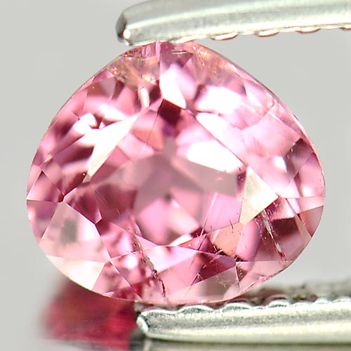 0.76 Ct. Nice Pear Natural Gemstone Pink Tourmaline Unheated