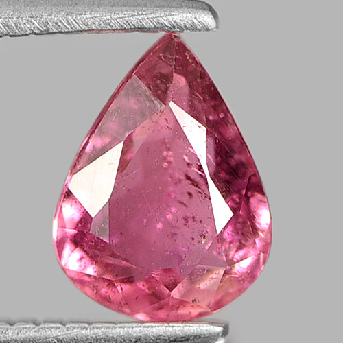 0.66 Ct. Attractive Natural Gem Peach Pink Tourmaline Pear Shape