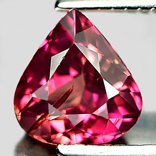 0.70 Ct. Delightful Natural Gem Peach Pink Tourmaline Pear Shape