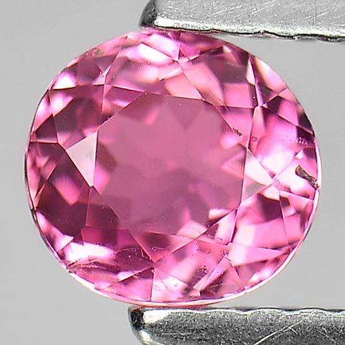 0.66 Ct. Good Oval Natural Gem Pink Tourmaline From Nigeria