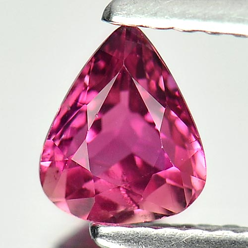 0.64 Ct. Pear Natural Gem Purple Pink Tourmaline From Nigeria