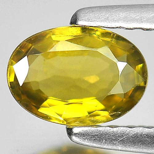 0.58 Ct. Oval Shape Natural Gem Yellow Tourmaline Nigeria
