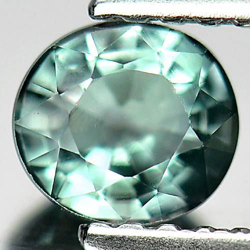 0.59 Ct. Nice Oval Natural Gem Blue Green Tourmaline Unheated