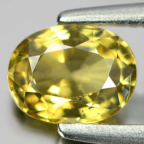 0.57 Ct. Oval Shape Natural Gem Yellow Tourmaline Unheated