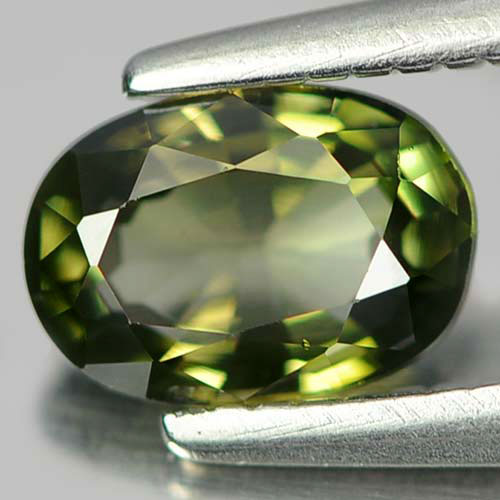 0.61 Ct. Delightful Oval Natural Gem Green Tourmaline Unheated