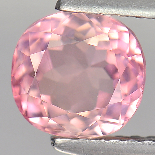 1.64 Ct. Nice Color Pink Cushion Natural Tourmaline Gem Unheated Nigeria