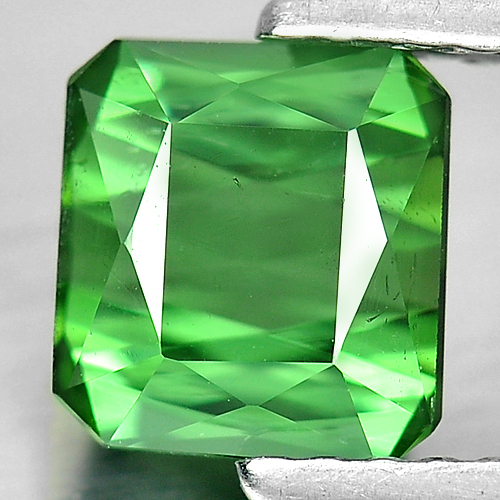 1.28 Ct. Octagon Shape Natural Gemstone Green Tourmaline From Nigeria Unheated