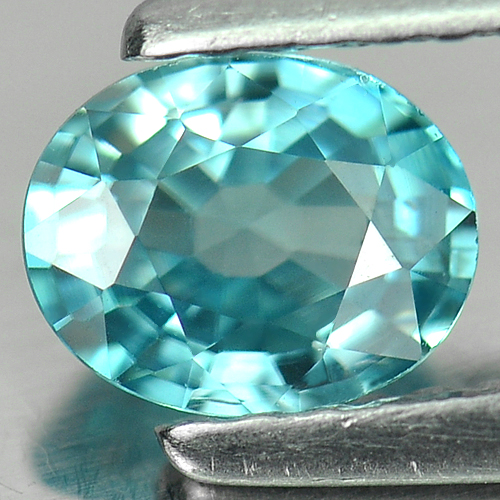 0.84 Ct. Charming Natural Blue Color Zircon Cambodia