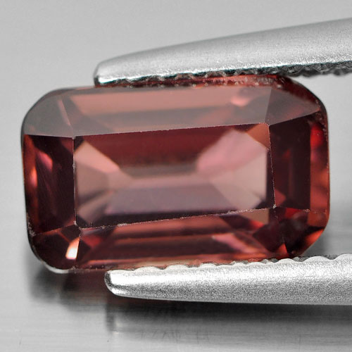 2.00 Ct. Natural Imperial Zircon Octagon Shape From Tanzania Unheated