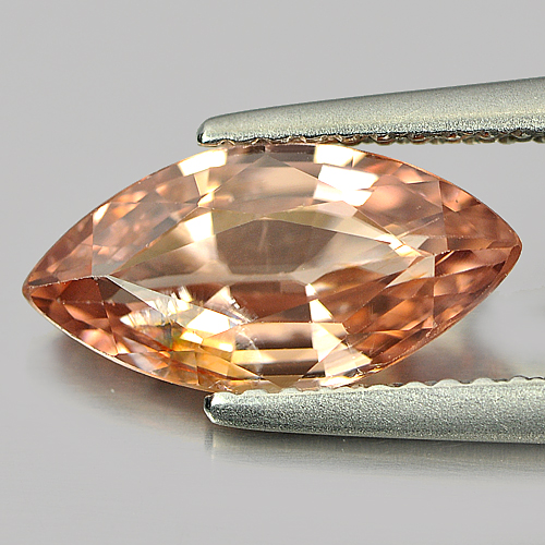 Unheated 2.61 Ct. Marquise Natural Gem Imperial Zircon Tanzania