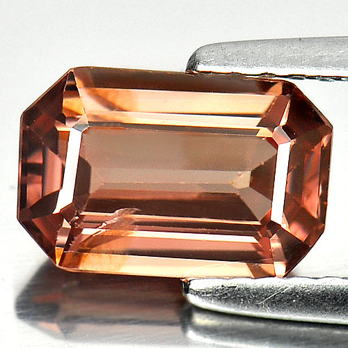 Unheated 2.21 Ct. Good Octagon Natural Gem Imperial Pink Zircon