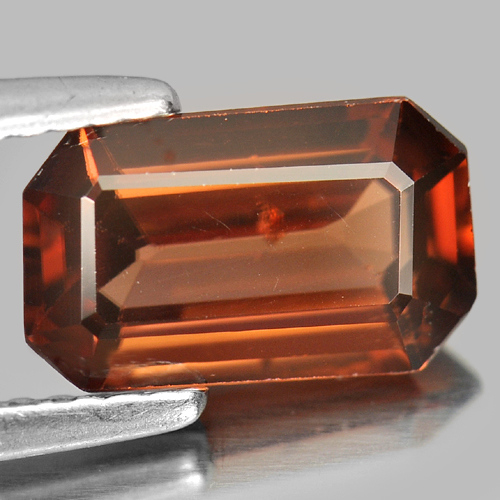 2.55 Ct. Natural Gemstone Imperial Zircon Octagon Shape Unheated