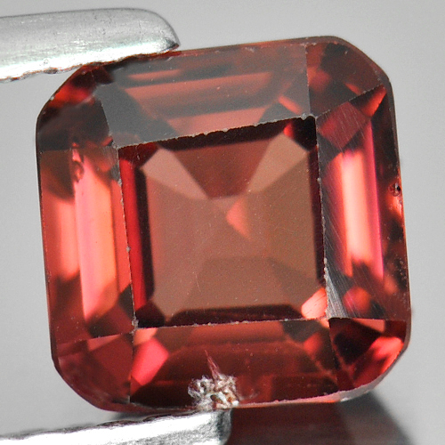 1.85 Ct. Natural Imperial Pink Zircon Gemstone Octagon Shape From Tanzania