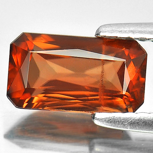 1.76 Ct. Sz 9 x 5 Mm. Octagon Natural Gem Imperial Zircon Unheated