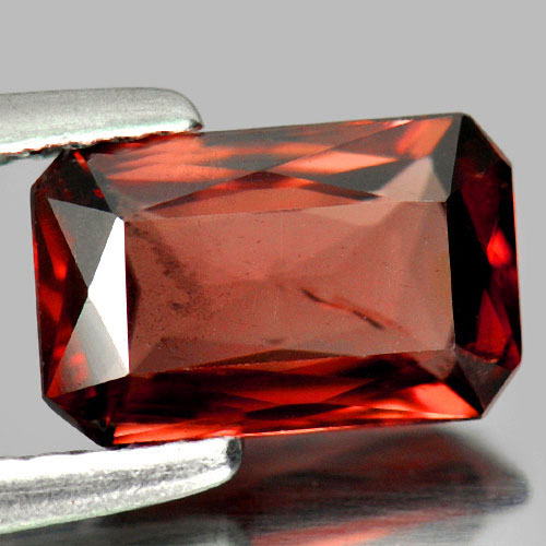 Imperial Zircon 1.80 Ct. Octagon Shape 8.9 x 5.4 Mm. Natural Gemstone Unheated
