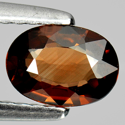 0.88 Ct. Cute Natural Imperial Zircon Gemstone Oval Shape