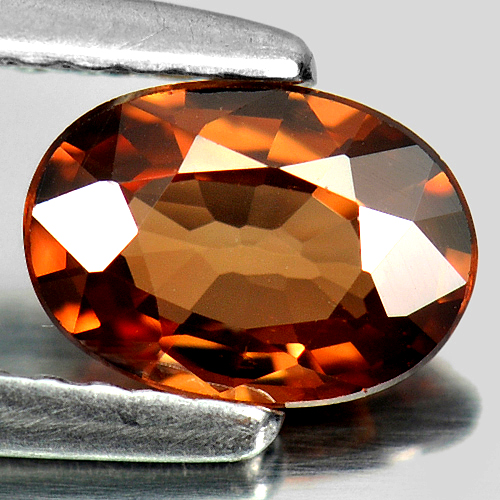 0.89 Ct. Good Natural Gemstone Imperial Zircon Oval Shape