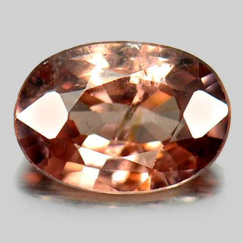 0.81 Ct. Oval Shape Natural Imperial Pink Zircon Gemstone