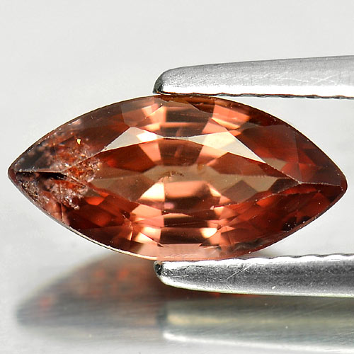 2.08 Ct. Vivid Natural Imperial Pink Zircon Gemstone Marquise Shape