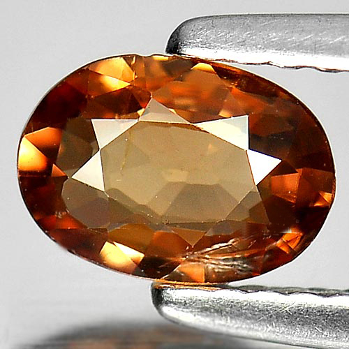 0.81 Ct. Nice Oval Shape Natural Gem Imperial Zircon Sz 7 x 5 Mm.