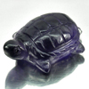 15.77 Ct. Natural Gemstone Purple Amethyst Turtle Carving From Brazil Unheated