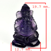 10.43 Ct. Natural Gemstone Purple Amethyst Ganesha Carving Unheated