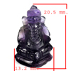 13.03 Ct. Natural Gemstone Purple Amethyst Ganesha Carving Unheated