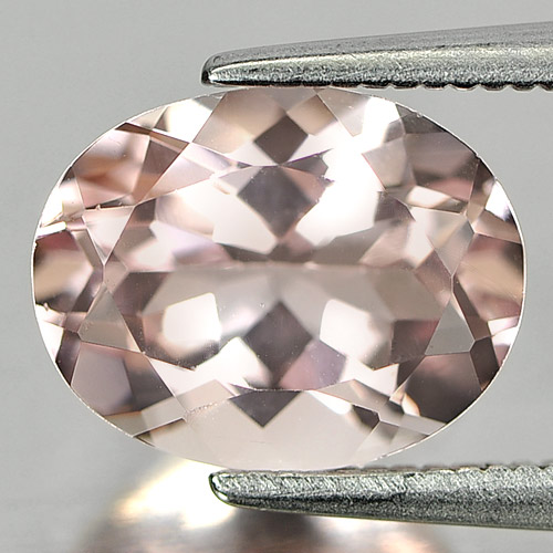 Unheated 2.46 Ct. Alluring Gemstone Natural Pink Morganite Oval Shape
