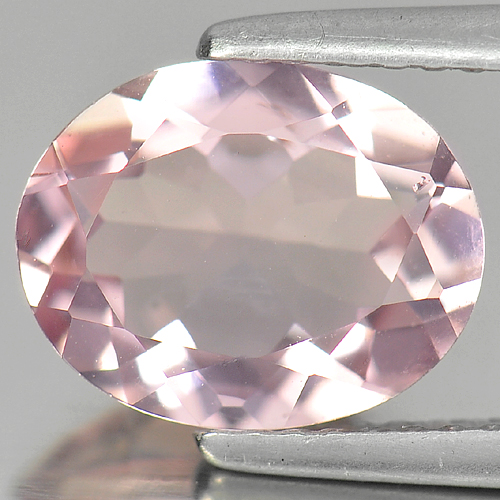 Attractive Gemstone 2.18 Ct. Oval Shape Natural Pink Morganite Unheated