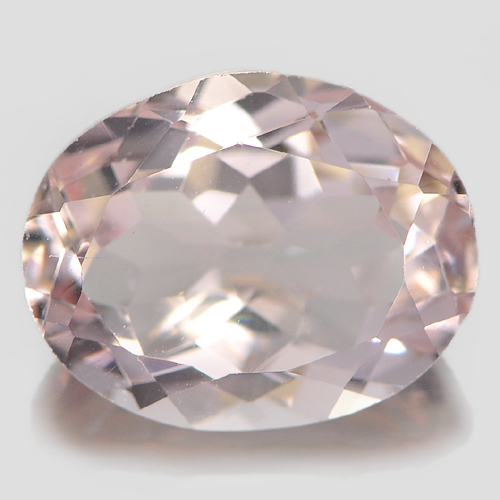 2.57 Ct. Charming Oval Shape Natural Gemstone Pink Morganite Unheated