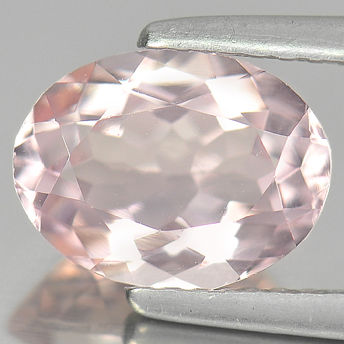 1.69 Ct. Charming Natural Gemstone Pink Morganite Oval Shape From Brazil