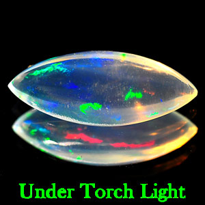 1.24 Ct. Marquise Cab Natural Multi Color Opal Sudan