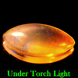 1.27 Ct. Marquise Cabochon Natural Multi Color Opal Very Good