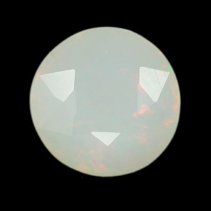 0.78 Ct. Round Natural Multi Color Opal Unheated Gem