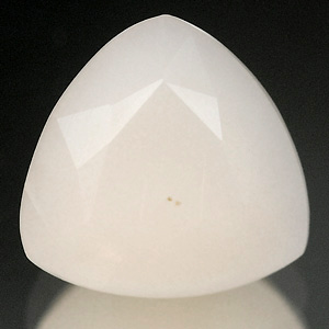 0.96 Ct. Trilliant Natural White Opal Sudan Unheated