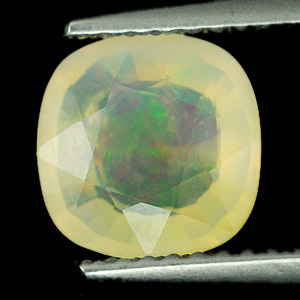 Unheated 1.31Ct. Cushion Natural Multi Color Opal Sudan