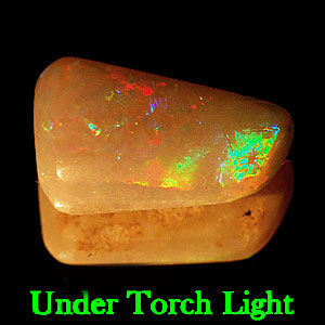 1.63 Ct. Fancy Cabochon Natural Multi Color Opal Sudan