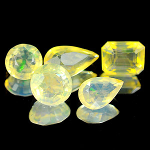 2.59 Ct. 5 Pcs. Natural Multi Color Opal Unheated Gems