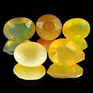 2.13 Ct. 5 Pcs. Natural Multi Color Opal Unheated Gems