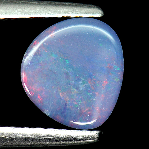 0.71 Ct. Attractive Natural Gemstone Multi Color Doublet Opal From Australia