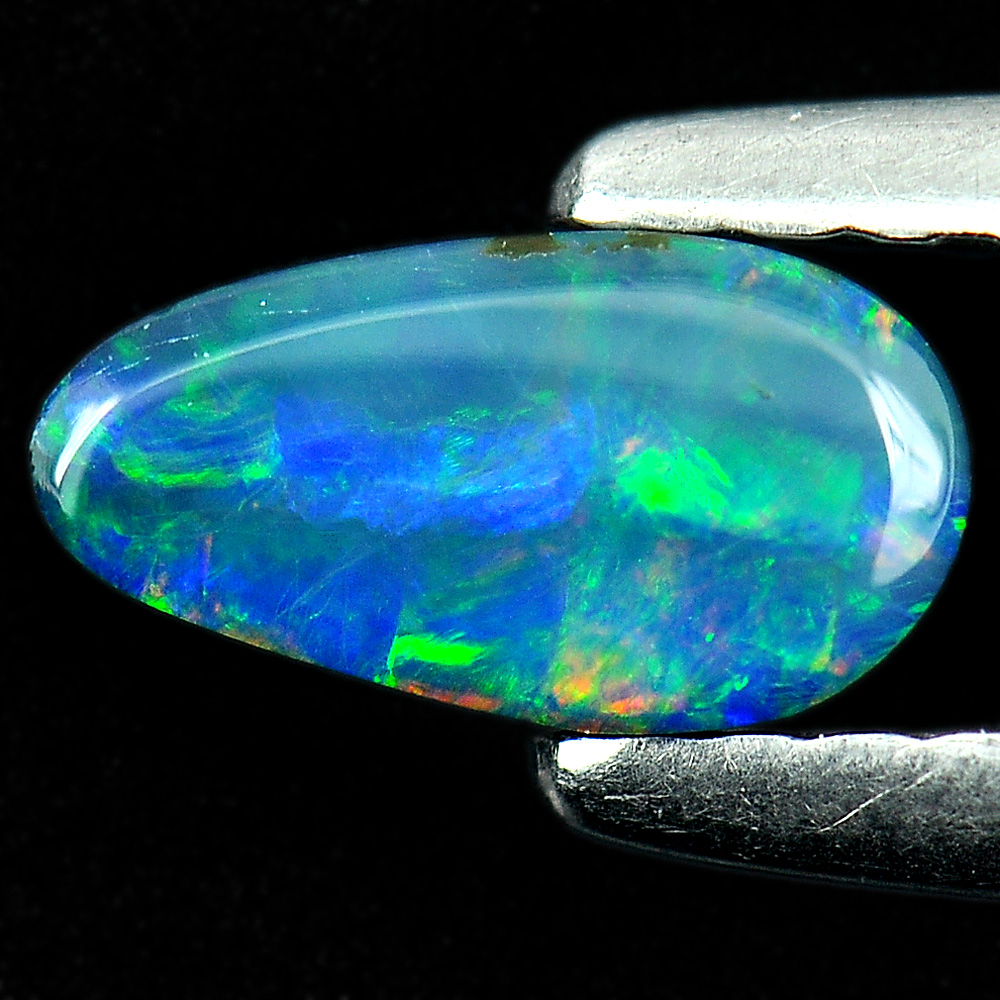 0.41 Ct. Natural Gem Multi Color Doublet Opal Unheated