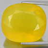 Unheated 17.53 Ct. Lovely Oval Shape Natural Gemstone Clean Yellow Opal Mexico