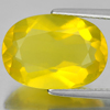 Unheated 5.44 Ct. Oval Shape Natural Gemstone Yellow Opal From Mexico